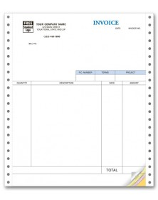 Continuous Service Invoice for QuickBooks