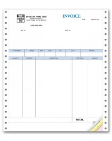 Continuous Product Invoice for QuickBooks