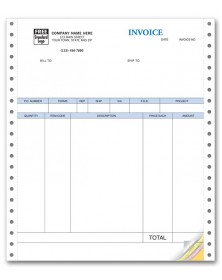 Continuous Product Invoice for QuickBooks - No Packing Slip