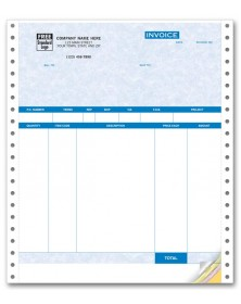 Continuous Product Invoice with Packing List - Parchment