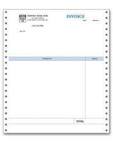 Continuous Professional Invoice for QuickBooks
