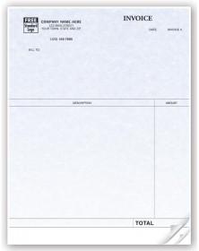 Professional Laser Invoice for QuickBooks - Parchment