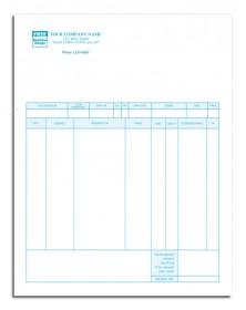 General Laser Invoice - MYOB