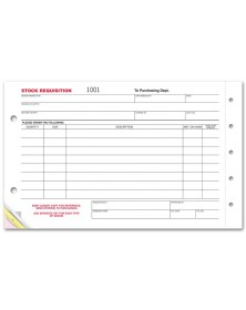 1700, Stock Requisition Forms