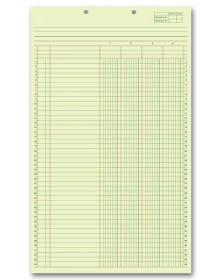 Legal Size Columnar Pads ledger forms, general ledger forms, accounting general ledger forms