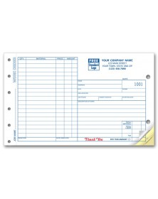 Wide Carbonless Work Orders
