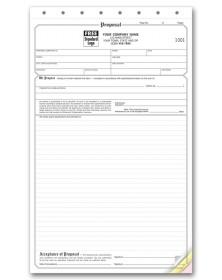 Triplicate Proposal Forms
