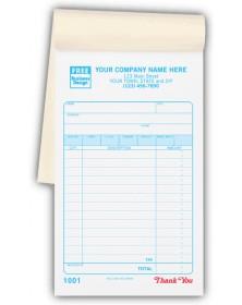 Carbonless Custom Sales Form Books