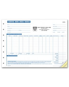 Flooring Work Order Forms
