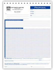 Graph Paper Proposal Forms