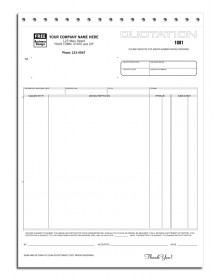 Quotations Forms