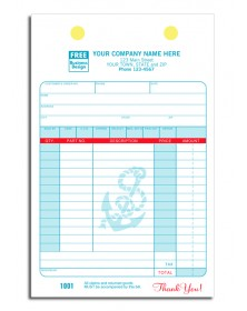 Marine Register Business Forms
