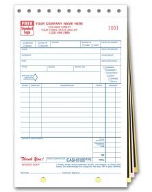 Sales and Service Invoice Forms