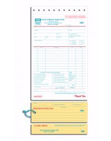 TV Repair Order forms