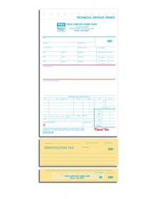 Technical Service Forms with Tags