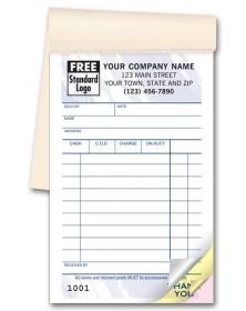 Carbonless Sales Order Form
