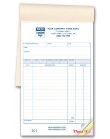 Carbonless Custom Sales Invoice Books