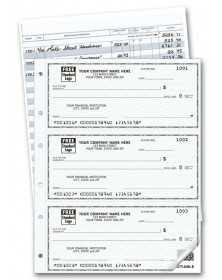 Duplicate Personal Size Checks, Customized Business Checks With Logo