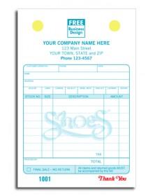 Custom Shoe Repair Register Forms
