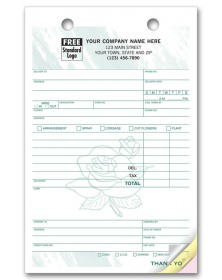Flower Customized Register Forms