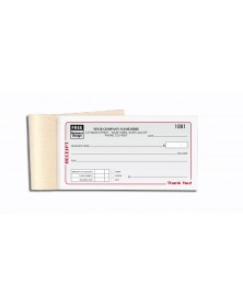 Personalized Receipt Books