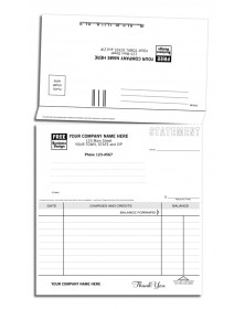 Statement with Return Payment Envelopes