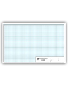 Engineering Graph Pads - 11 X 17 - 1/8 Inch graph pads, custom graph paper, graph paper pads