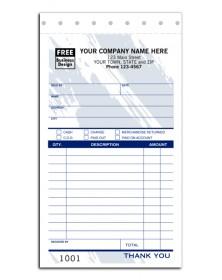 Colored Custom Sales Receipts sales receipts, sales receipts books, custom sales receipts