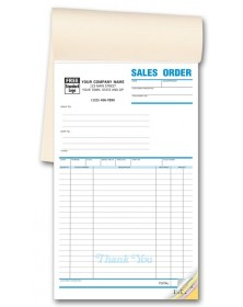 Carbonless Sales Order Form Books