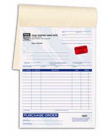 Purchase Order Books Colored purchase order booklet, purchase order books