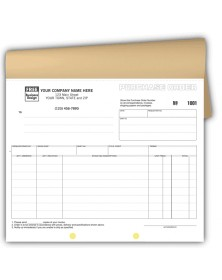 Purchase Order Carbonless Forms purchase order booklet, purchase order books