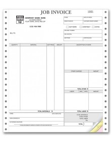 Continuous Job Invoice