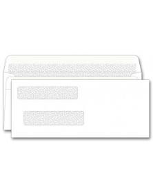Self Seal Double Window Check Envelopes