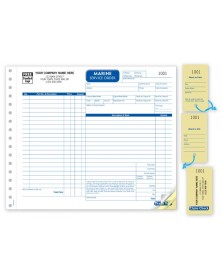 Marien Detailed Service Order Forms