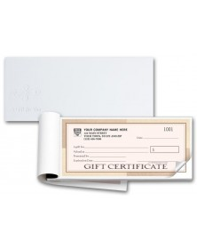 Santa Fe Customer Gift Certificate Books