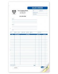 General Sales Order Booked Forms
