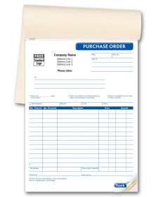 GEN0087, Purchase Order Book