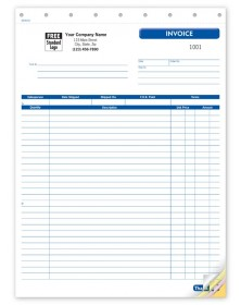 General Large Shipping Invoices