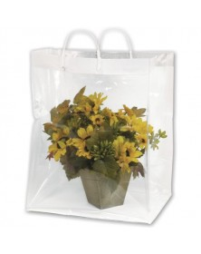 Floral Packagng Bag 13x11x19