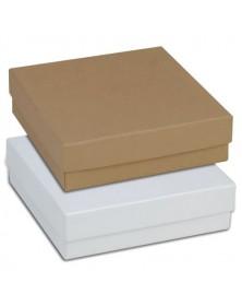 Jewelry Box Kraft White