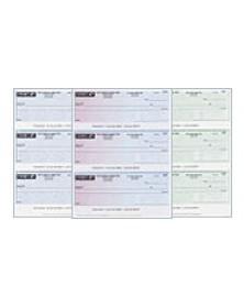 Computer Checks for Quicken - 3 Per Page
