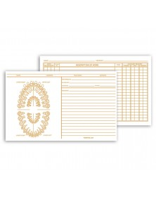 Dental Exam Card File Record Unnumbered