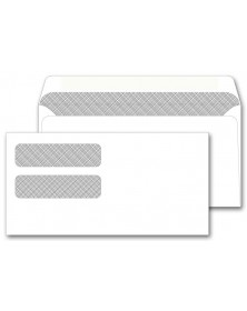 Dual Window Confidential Envelopes