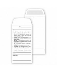 Dental Post- Operative Custom Made Envelopes