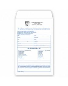 Auto Repair White Envelope