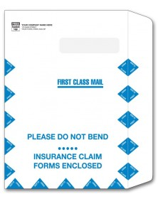 787, Large Claim Form Mailing Envelope