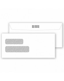 Gummed Private Double Window Envelopes