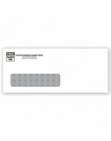 Single Window White Envelopes