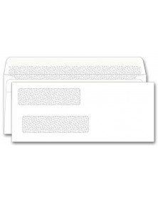 92502, Double Window Envelope Self Seal 8 5/8 x 3 5/8