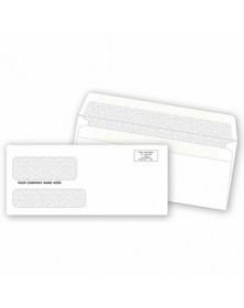 Self –Sealing  Double Window Check Envelopes